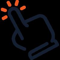 interaktivitás ikon
